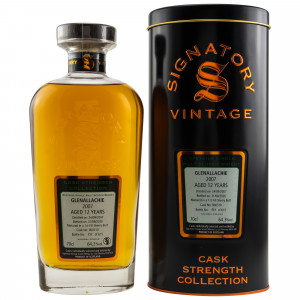 Glenallachie 2007/2020 - 12 Jahre First Fill Sherry Butt No. 900510 (Signatory Cask Strength Collection)