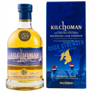 Kilchoman Machir Bay Cask Strength Limited Christmas Edition 2020