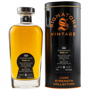 Imperial 1995/2020 - 25 Jahre Single Cask No. 50272 (Signatory Cask Strength) (exclusively bottled for Kirsch)