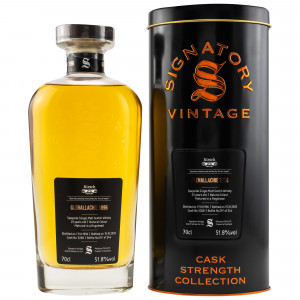 Glenallachie 1996/2020 - 23 Jahre Single Cask No. 5268 (Signatory Cask Strength) (bottled Kirsch Import)
