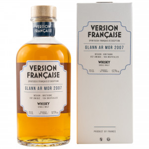 Glann Ar Mor 2007/2020 Bourbon 1st Fill Single Cask 13128 Version Francaise