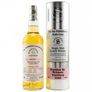 Ardmore 2009/2020 - 10 Jahre Bourbon Barrels Casks No. 706249+706251 (Signatory Un-Chillfiltered)