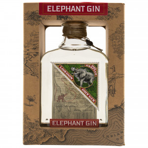 Elephant London Dry Gin mit Geschenkverpackung