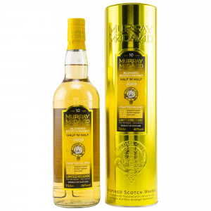 Half 'n' Half Blended Scotch Whisky 2009 - 10 Jahre (Crafted Blend Murray McDavid)