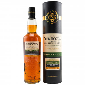 Glen Scotia Heavily Peated 2002/2020 Refill American Oak & First Fill Ruby Port Cask No. 19/320-5