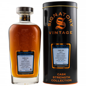 Caol Ila 2010/2020 - 10 Jahre Cask No. 316643 (Signatory Cask Strength Collection)