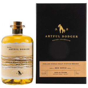 Ben Nevis 21 Jahre Single Cask No. 674 (Artful Dodger Whisky)