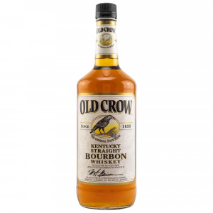 Old Crow The Original Sour Mash Kentucky Straight Bourbon Whiskey (Liter)