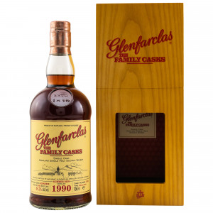 Glenfarclas 1990/2020 The Family Casks No. 5122 Sherry Butt