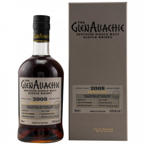 GlenAllachie 2008/2020 - 12 Jahre Single PX Puncheon No. 515 (exclusively bottled for Kirsch Import)