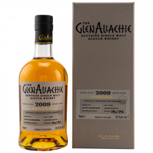 GlenAllachie 2009/2020 - 11 Jahre Single Sauternes Barrel No. 3715 (exclusively bottled for Germany)
