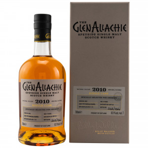 GlenAllachie 2010/2020 - 9  Jahre Single Marsala Barrel No. 2482 (exclusively bottled for Germany)