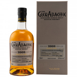 GlenAllachie 2008/2020 - 12 Jahre Single Pinot Noir Cask No. 6078 (exclusively bottled for Germany)