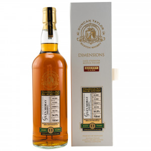 Glen Moray 2009/2020 11 Jahre Dimensions Sherry Single Cask No. 709000711 (Duncan Taylor)