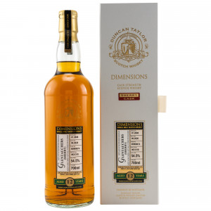 Glentauchers 2008/2020 12 Jahre Dimensions Sherry Single Cask No. 85900674 (Duncan Taylor)