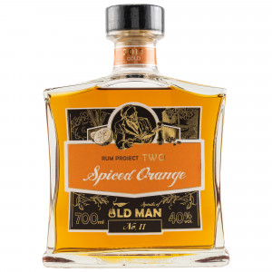 Spirits of Old Man Rum Project Two Spiced Orange 2019 Gold