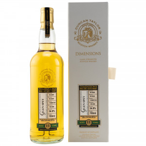 Glen Spey 2009/2020 - 11 Jahre Single Oak Cask No. 110805728 Dimensions (Duncan Taylor)
