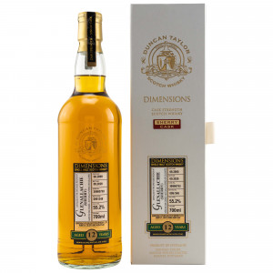 Glenallachie 2008/2020 12 Jahre Dimensions Single Sherry Cask No. 30900793 (Duncan Taylor)
