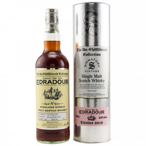 Edradour 2010/2020 - 10 Jahre Cask No. 132 (Signatory Un-Chillfiltered)