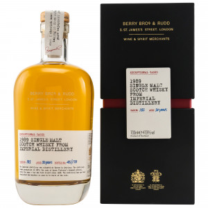 Imperial 1989 - 30 Jahre Single Cask No. 183 (Berry Bros and Rudd)
