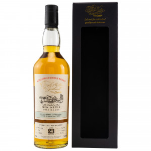 Ben Nevis 1996/2020 - 23 Jahre Hogshead Single Cask No. 1750 bottled for Kirsch (Single Malts of Scotland)