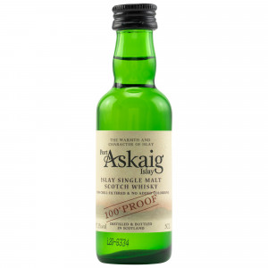 Port Askaig 100 Proof (Miniatur)