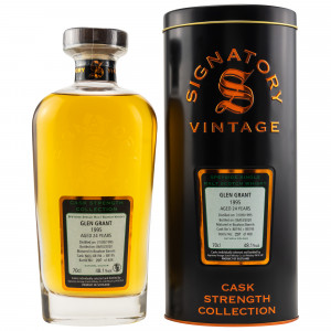 Glen Grant 1995/2020 - 25 Jahre Casks No. 88194 + 88195 (Signatory Cask Strength)