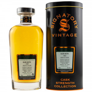 Glen Keith 1997/2020 - 22 Jahre Single Cask No. 72618 (Signatory Cask Strength)