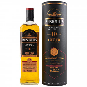 Bushmills 2010/2020 - 10 Jahre Cognac Finish The Causeway Collection