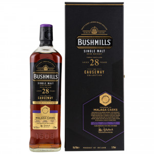 Bushmills 1992/2020 - 28 Jahre Malaga Finish (The Causeway Collection)