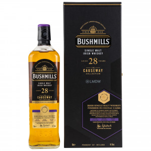 Bushmills 1992/2020 - 28 Jahre Cognac Cask The Causeway Collection (by LMDW)