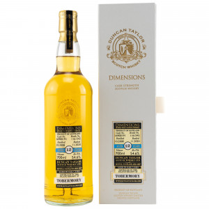 Tobermory 2008/2020 - 12 Jahre Single Cask No. 16900191 Dimensions (Duncan Taylor)