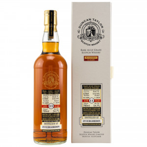 Invergordon 2009/2020 - 11 Jahre Single Cask No. 520004 Rare Old Grain (Duncan Taylor)