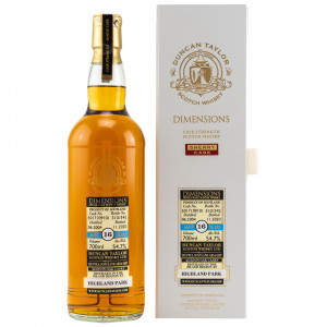 Highland Park 2004/2020 - 16 Jahre Single Cask No. 5017109101 Dimensions (Duncan Taylor)