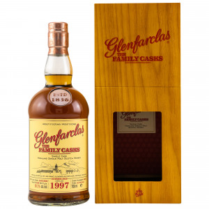 Glenfarclas 1997/2020 - 23 Jahre The Family Casks 4th Fill Butt No. 4667