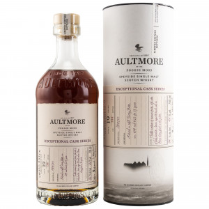 Aultmore 19 Jahre refill Sherry Butts Exceptionnal Cask Series