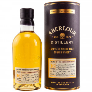 Aberlour 2003/2020 - 16 Jahre Single 3rd Fill American Oak Barrel No. 17177