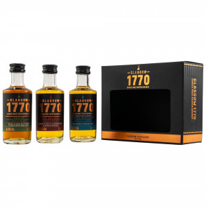 1770 Glasgow Mini Collection 3x 5cl