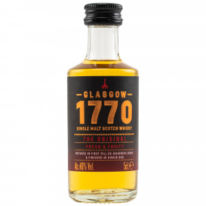 1770 Glasgow Single Malt Scotch Whisky - The Original (Miniatur)