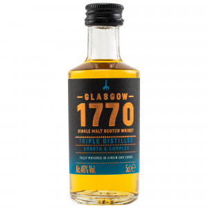1770 Glasgow Single Malt Scotch Whisky Triple Distilled (Miniatur)