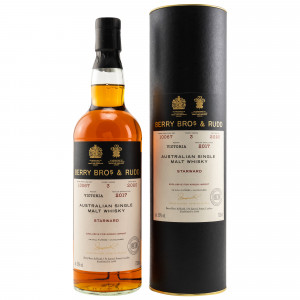 Starward 2017/2020 - 3 Jahre Single Cask No. 10067 (Berry Bros and Rudd)(exclusively bottled for Kirsch import)