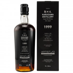 Karuizawa 1999/2018 Single Sherry Cask No. 872 (Artist 10th Anniversary by LMDW)