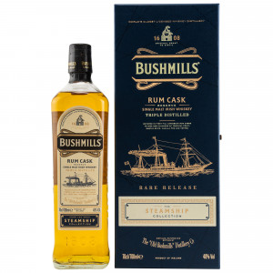 Bushmills #4 Rum Cask Reserve (The Steamship Collection)