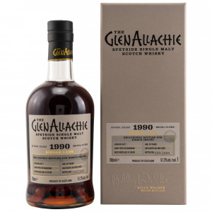 GlenAllachie 1990/2020 - 30 Jahre Single PX Hogshead No. 6517