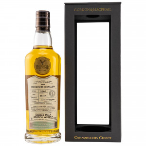 Inchgower 2007/2020 - 13 Jahre First Fill Bourbon Barrel No. 801457 (G&M Connoisseurs Choice)
