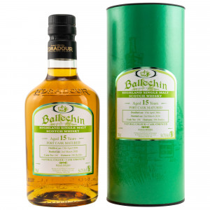 Ballechin 2004/2020 - 15 Jahre Single Port Cask No. 196 (exclusively bottled for Kirsch)