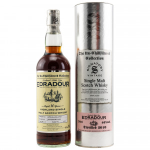 Edradour 2010/2020 - 10 Jahre Cask No. 9 (Signatory Un-Chillfiltered)