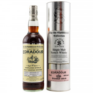 Edradour 2010/2020 - 10 Jahre Cask No. 400 (Signatory Un-Chillfiltered)