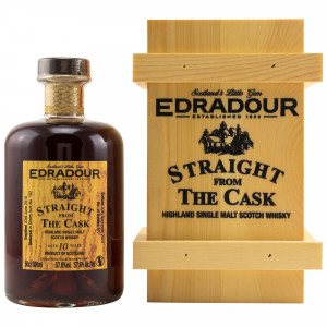 Edradour 2010/2020 10 Jahre Straight from the Cask Sherry Cask No. 162