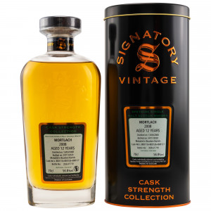 Mortlach 2008/2020 - 12 Jahre Bourbon Barrles No. 800110+800126+800127 (Signatory Cask Strength)
